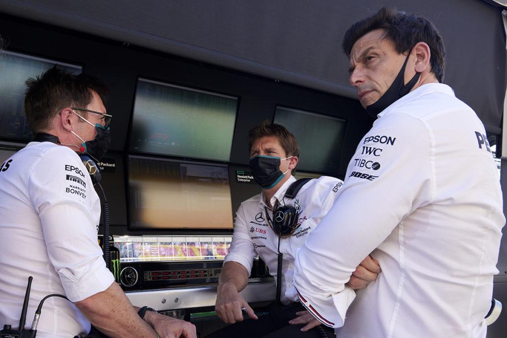 Formel 1 Mercedes Toto Wolff Ungarn GP 2021