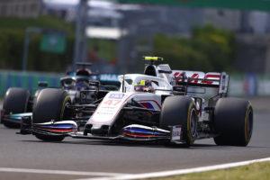 Formel 1 Mick Schumacher Haas Ungarn GP 2021 Rennen