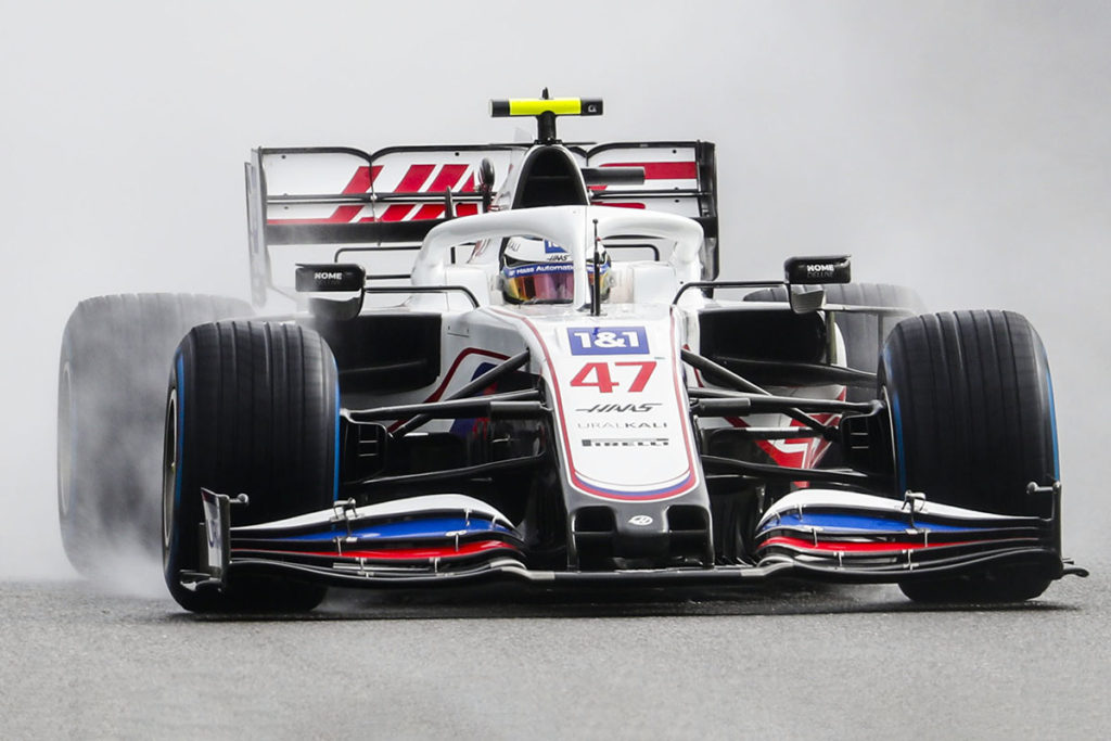 Formel 1 Mick Schumacher Haas Spa 2021
