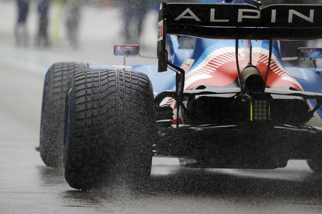 Formel 1 Pirelli Regenreifen 2021 Spa