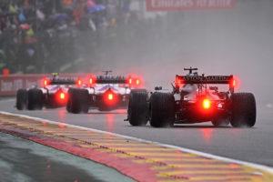 Formel 1 Spa 2021 Race