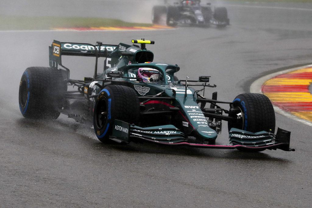 Formel 1 Sebastian Vettel Aston Martin Spa 2021