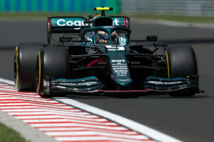 Formel 1 Sebastian Vettel Ungarn GP 2021 Race