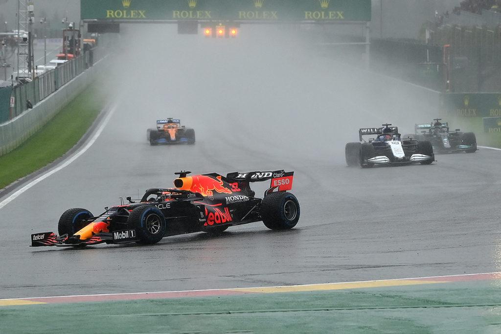 Formel 1 Spa Belgien 2021