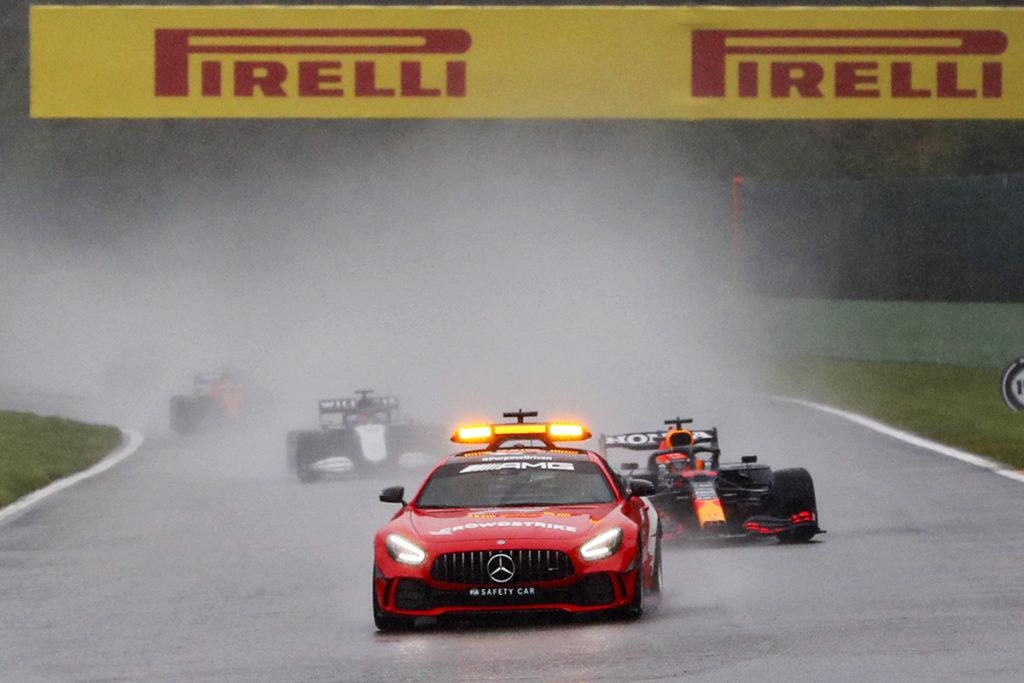 Formel 1 Spa Safety Car 2021