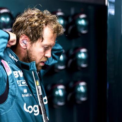 Formel 1 Sebastian Vettel Aston Martin Zandvoort 2021