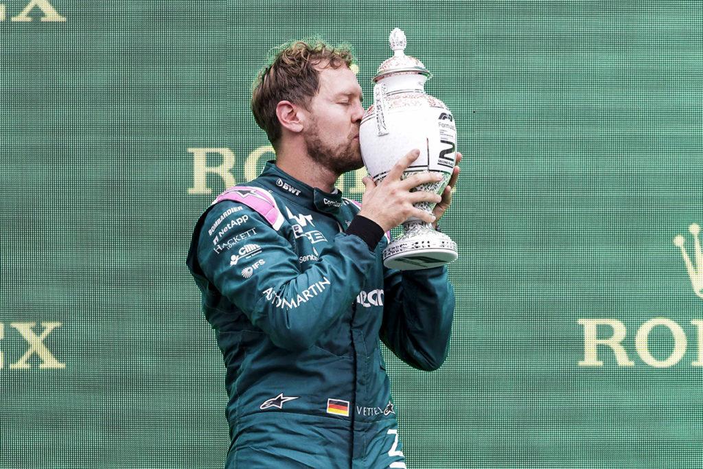 Formel 1 Sebastian Vettel Ungarn 2021
