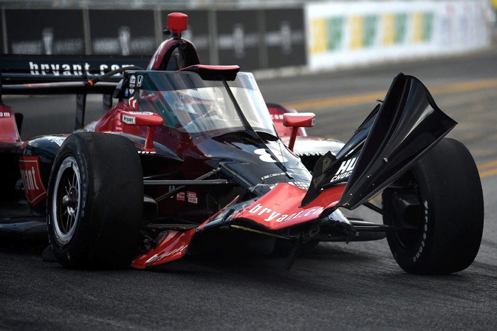 Marcus Ericsson Indycar Crash 2021
