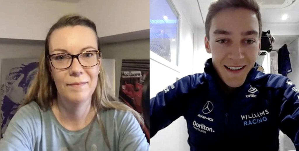George Russell, Williams, Mercedes, Interview, Formel 1