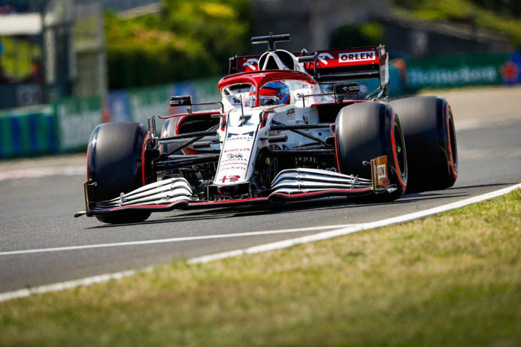 Kimi Räikkönen Alfa Romeo Formel 1 2021