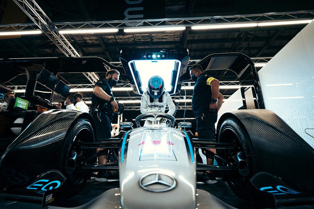 Formel E Mercedes Box 2021