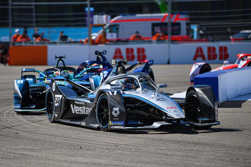 Formel E Mercedes Nyck de Vries 2021