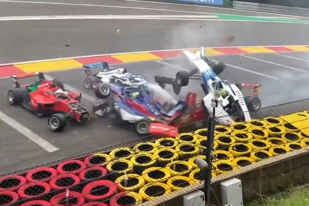 Crash Spa W Series 2021