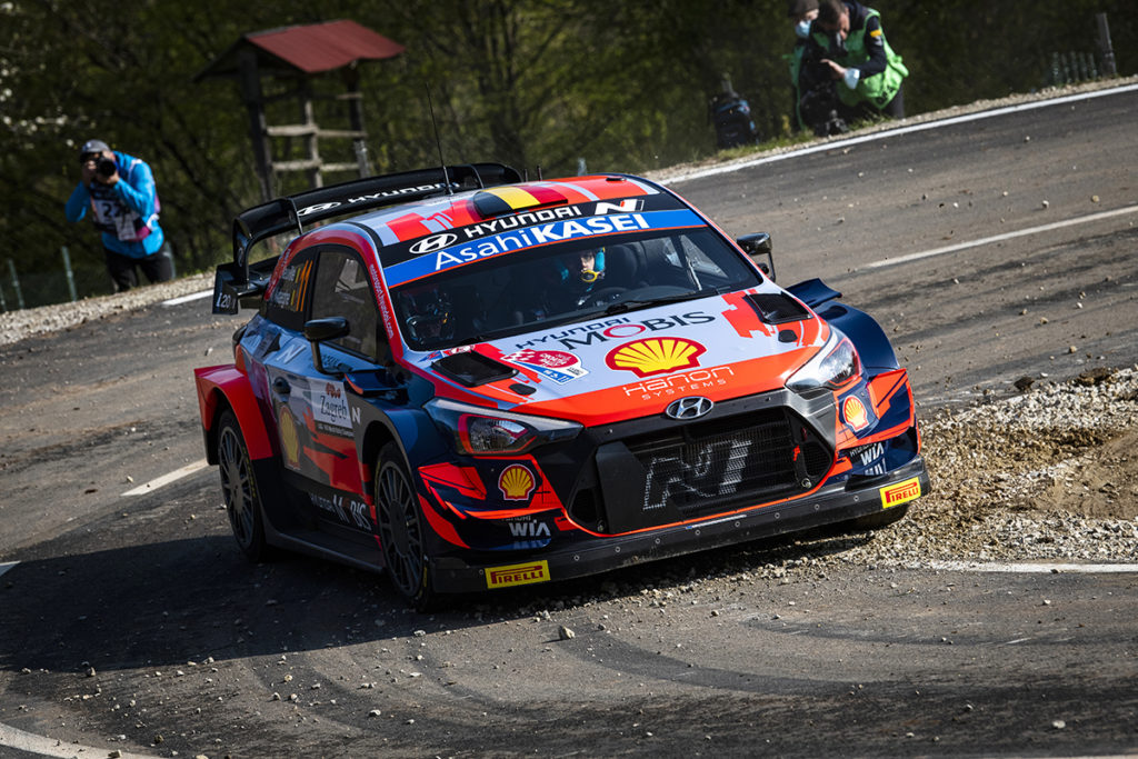 WRC Hyundai Thierry Neuville 2021