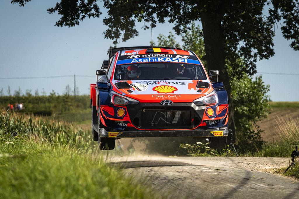 WRC Rallye WM Thierry Neuville Hyundai 2021