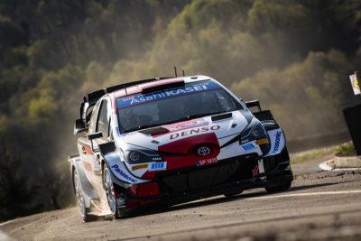 WRC Rallye Sebastien Ogier Toyota 2021