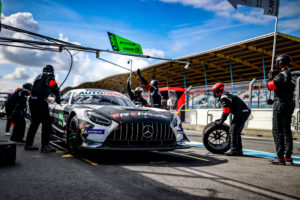 DTM in Assen Boxenstopp Mercedes