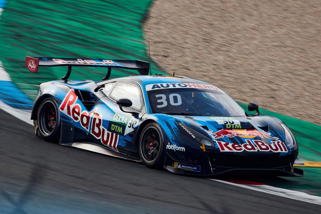 DTM Liam Lawson Red Bull Ferrari Assen 2021
