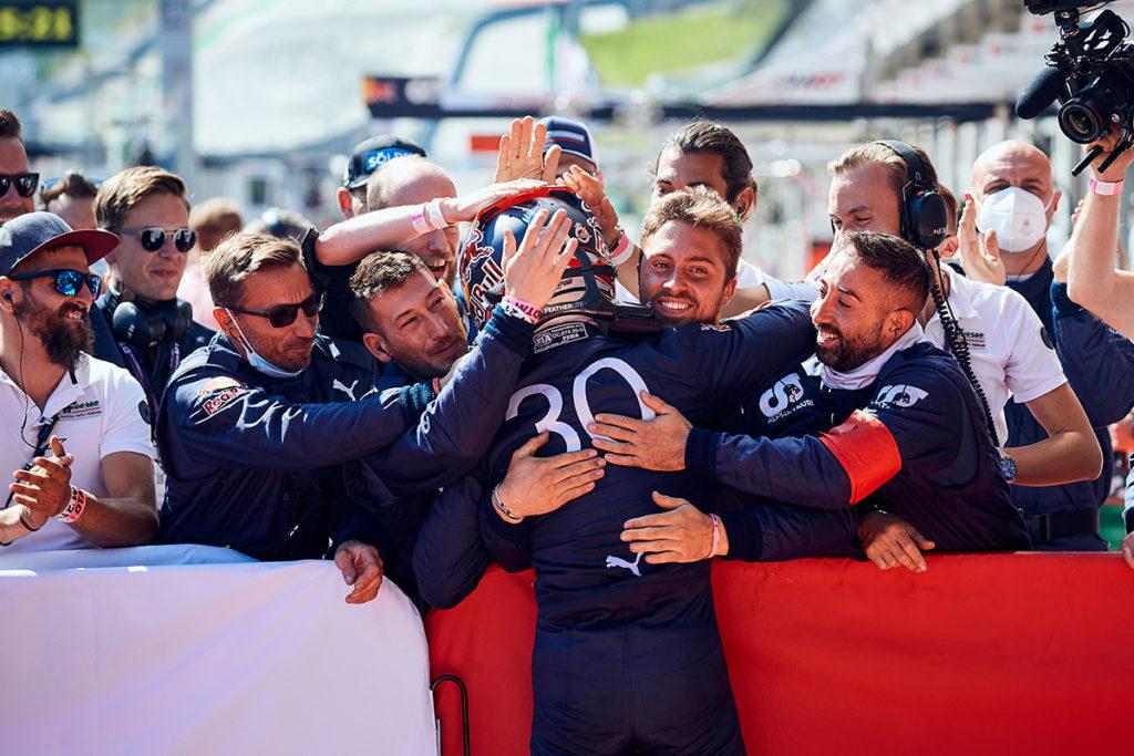 DTM Liam Lawson Red Bull Ferrari Spielberg 2021