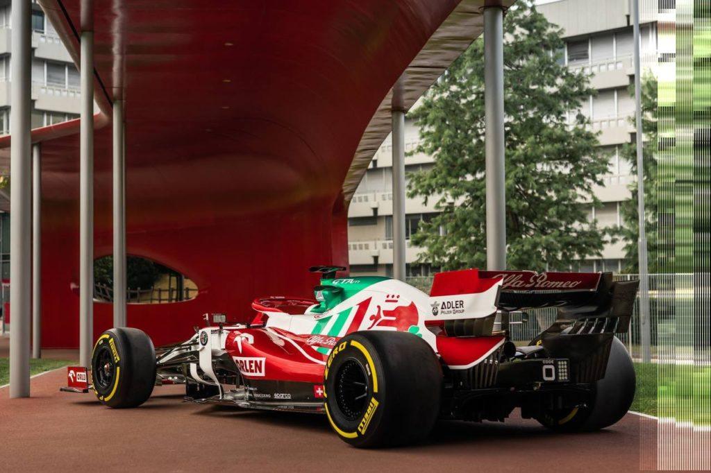 Formel 1 Alfa Romeo Monza 2021