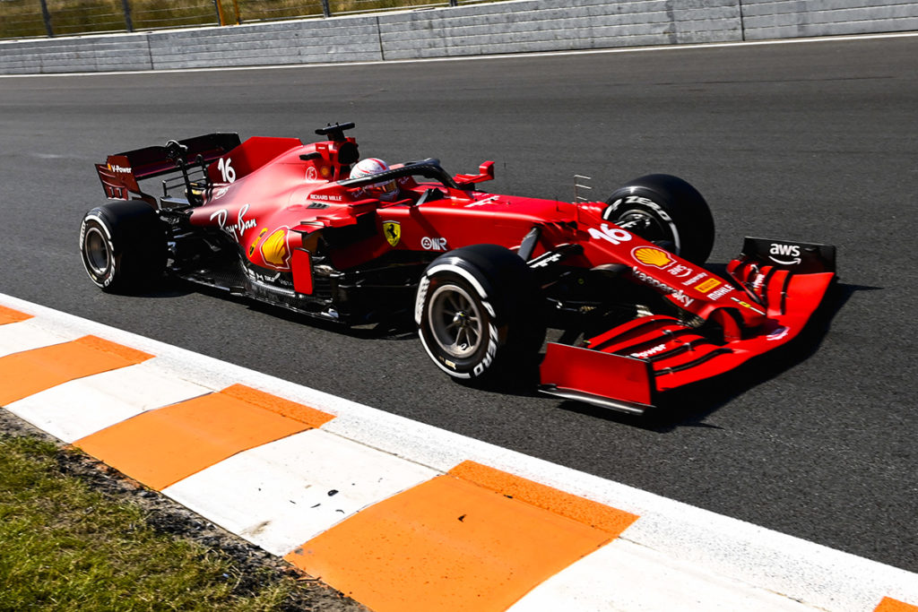 Formel 1 Charles Leclerc Ferrari Zandvoort 2021