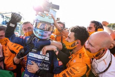 Formel 1 Daniel Ricciardo McLaren Monza 2021