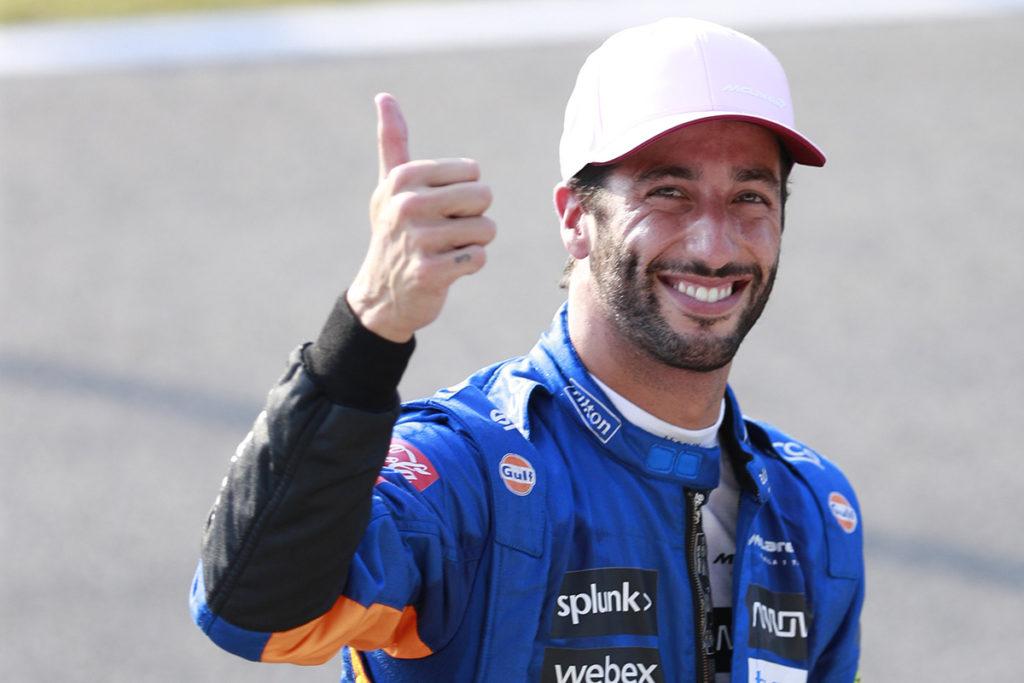 Formel 1 Daniel Ricciardo McLaren Monza Italien 2021 Sprint