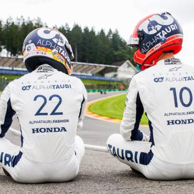 Formel 1 Pierre Gasly Yuki Tsunoda Alpha Tauri 2021