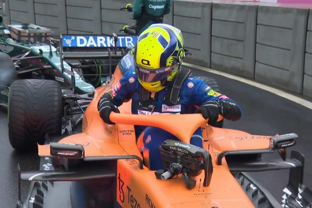 Formel 1 Lando Norris McLaren Russland Sotschi 3 2