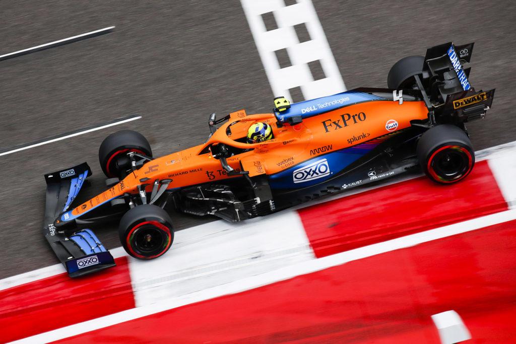 Formel 1 Lando Norris McLaren Sotschi Russland Quali 2021