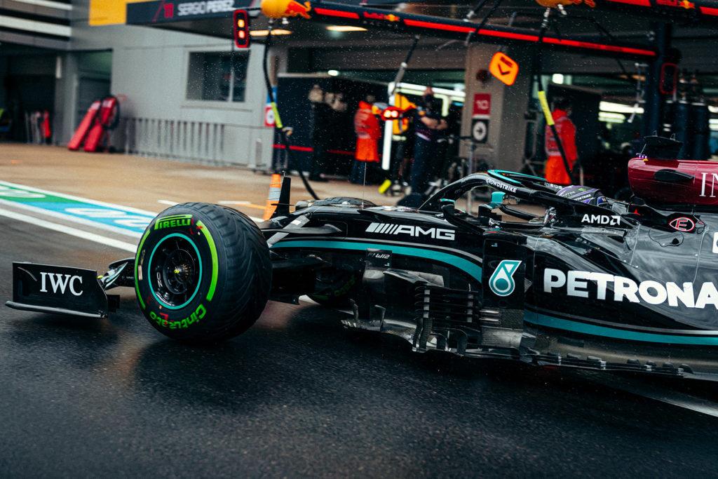 Formel 1 Lewis Hamilton Mercedes Sotschi Russland 2021