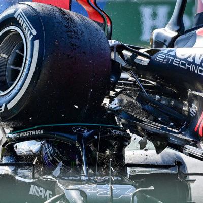 Formel 1 Lewis Hamilton Verstappen Crash Monza 2021