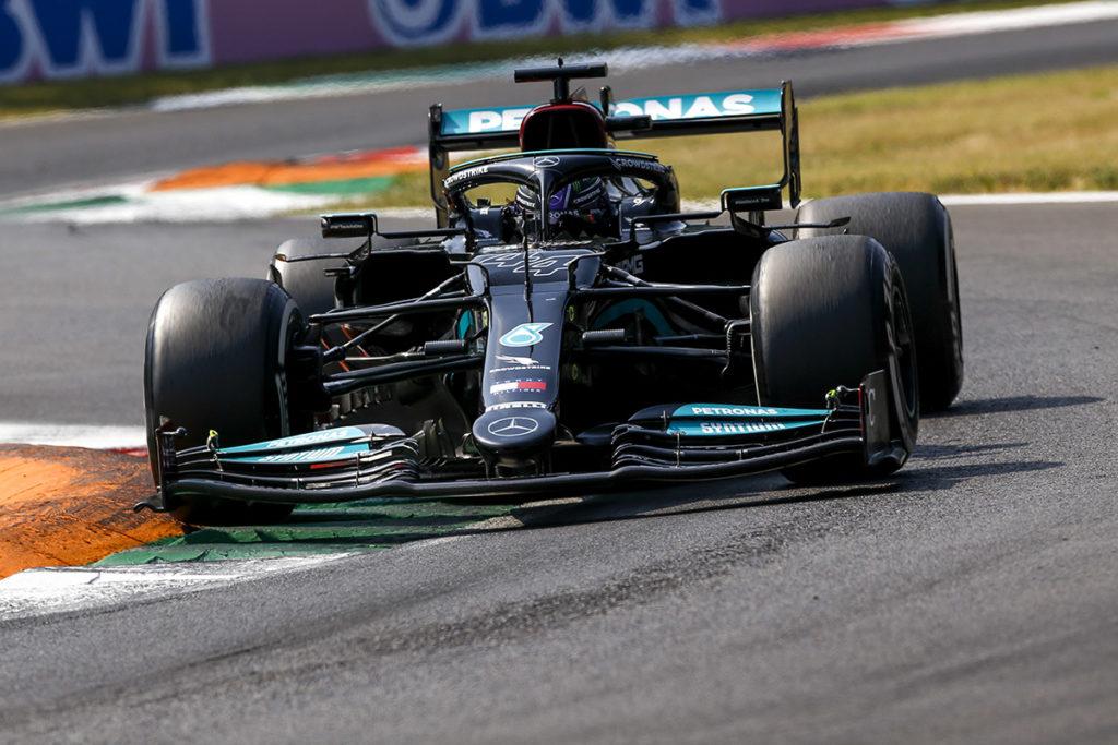 Formel 1 Lewis Hamilton Mercedes Monza italien 2021 Sprint