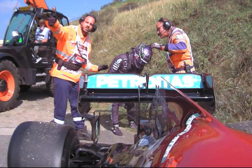 Formel 1 Lewis Hamilton Zandvoort Mercedes FP2
