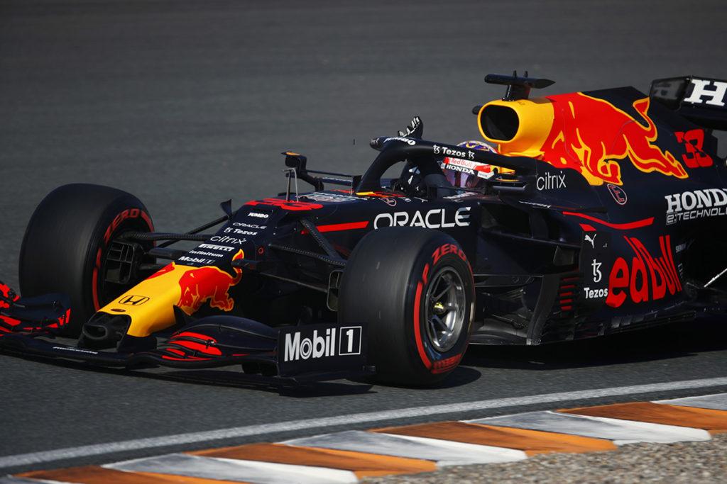 Formel 1 Max Verstappen Red Bull Zandvoort 2021 Rennen