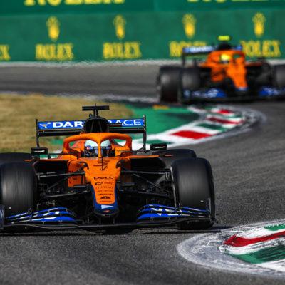 Formel 1 McLaren Daniel Ricciardo Monza