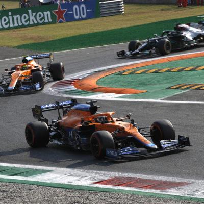 Formel 1 McLaren Monza Italien Sprint 2021