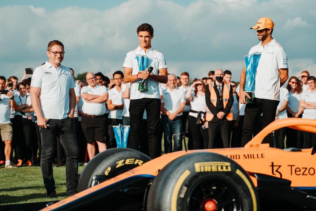 Formel 1 McLaren Seidl Norris Ricciardo