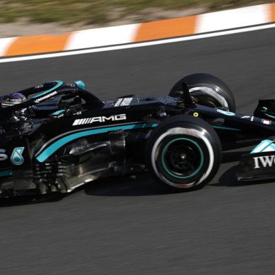Formel 1 Lewis Hamilton Mercedes Zandvoort 2021