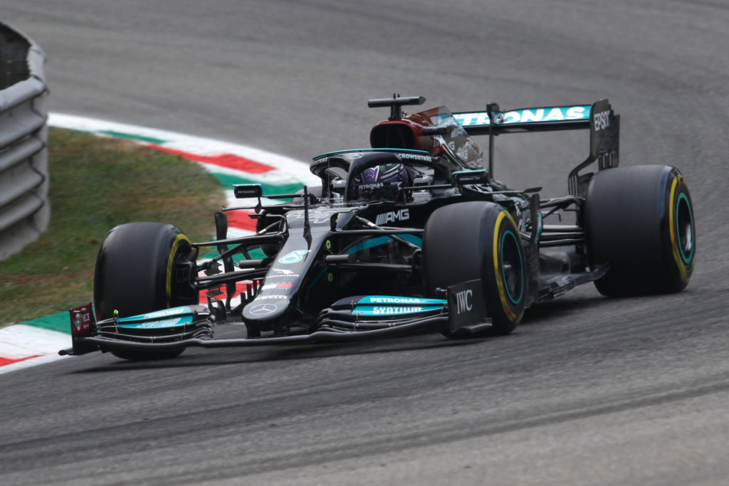 Formel 1 Mercedes Lewis Hamilton Monza 2021