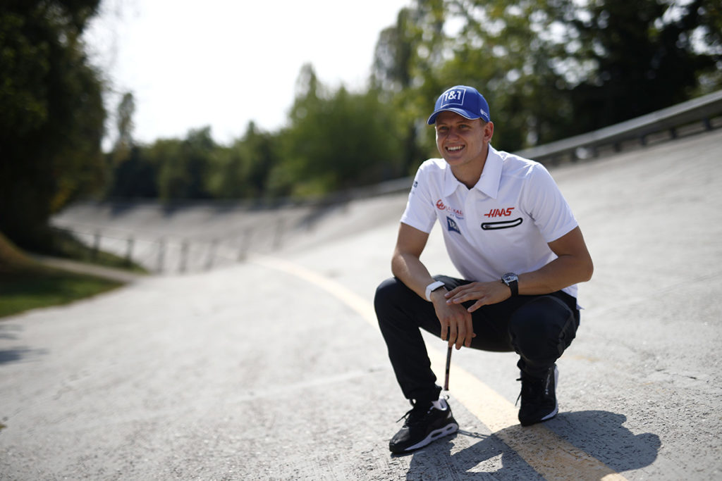 Formel 1 Mick Schumacher Haas Monza 2021
