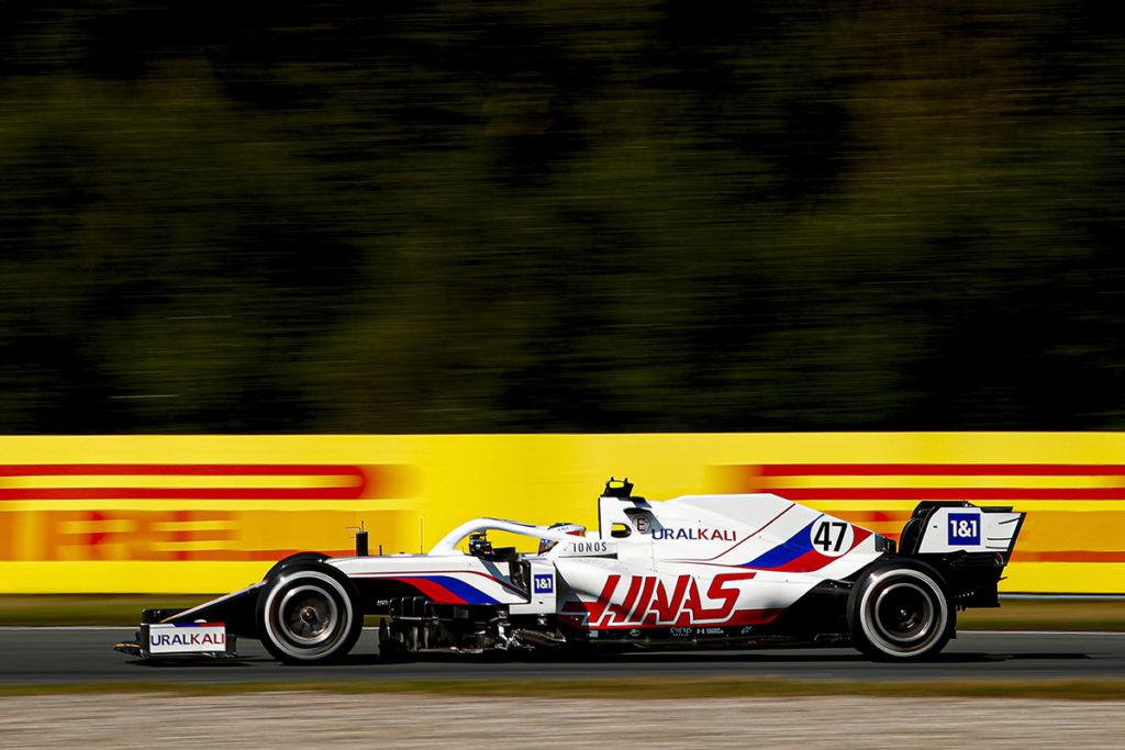 Formel 1 Mick Schumacher Haas Zandvoort 2021