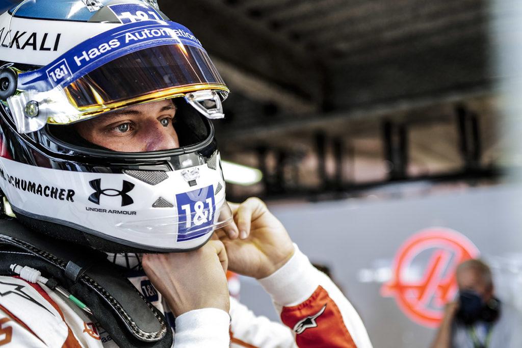 Formel 1 Mick Schumacher Haas Monza Italien 2021 Sprint