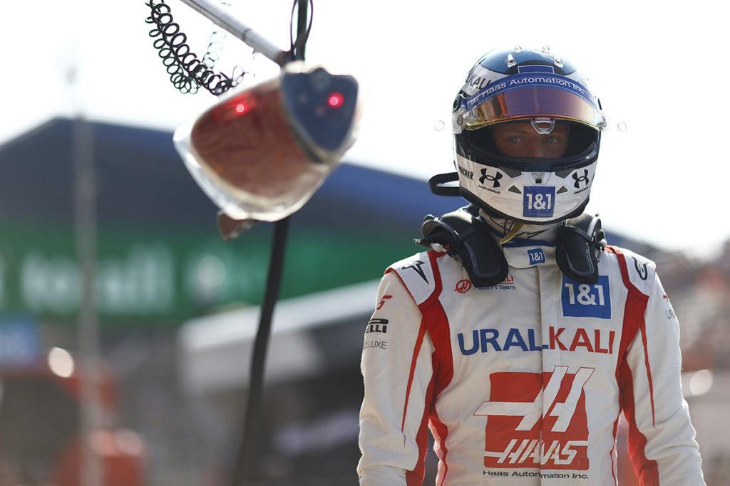 Formel 1 Mick Schumacher Haas Zandvoort Quali 2021