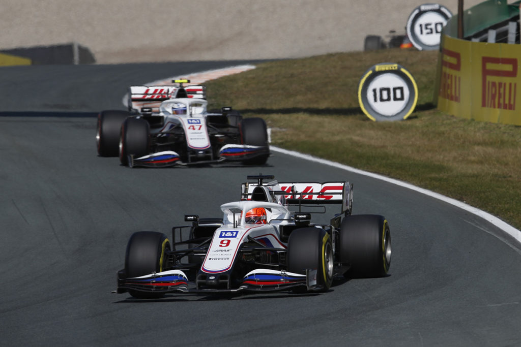Formel 1 Nikita Mazepin Mick Schumacher Haas Zandvoort 2021