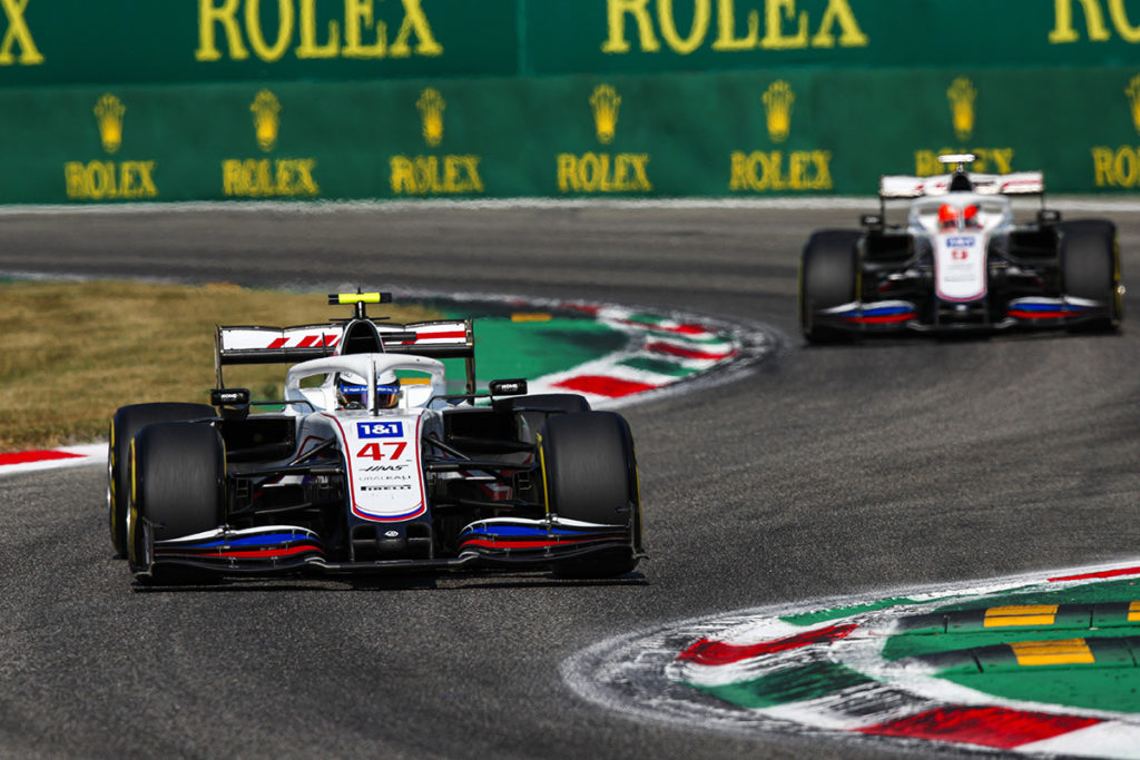 Formel 1 Mick Schumacher Nikita Mazepin Haas Italien GP Monza 2021
