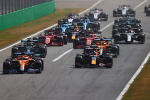 Formel 1 Monza Italien GP 2021 Start