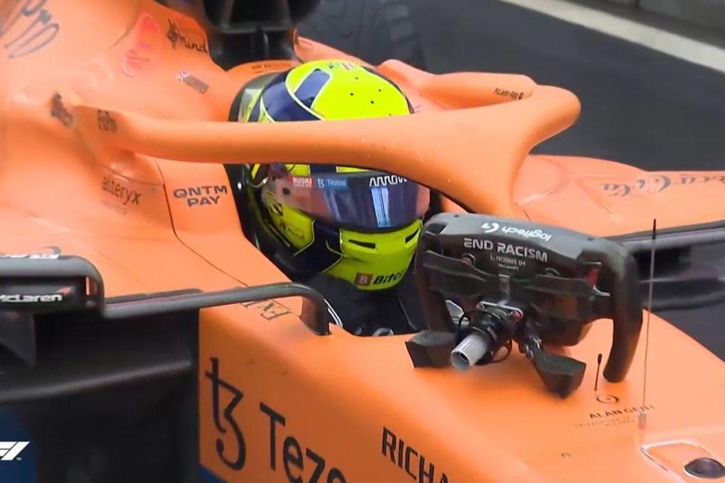 Formel 1 Lando Norris McLaren Sotschi Russland 2021