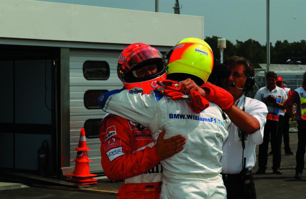 Formel 1 Michael Schumacher Ralf Schumacher Ferrari BMW 2002