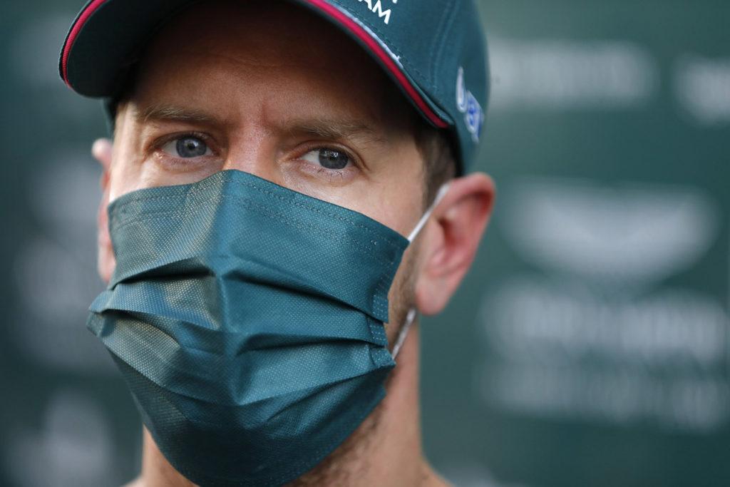 Formel 1 Sebastian Vettel Aston Martin Sotschi Quali Russland GP 2021